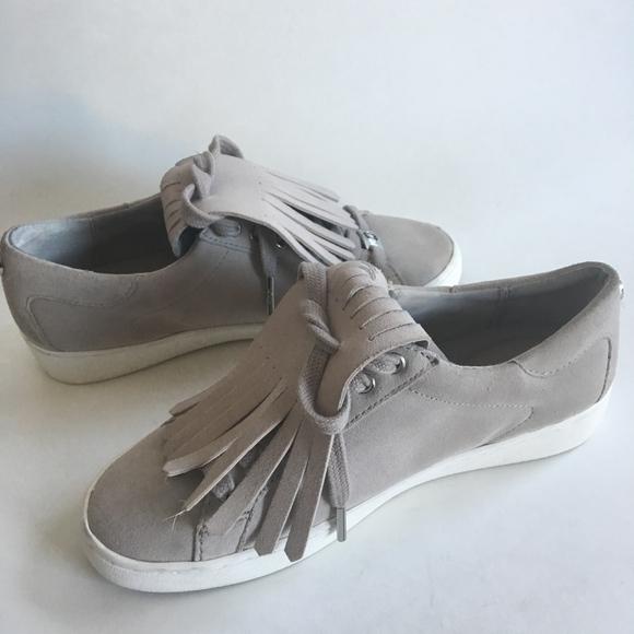 fafdb17fa1d6 MICHAEL Michael Kors Keaton Kiltie Suede Sneakers